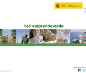 portada folleto red emprendeverde