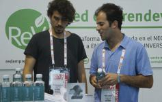 Auara, emprendedores de la Red emprendeverde, en The South Summit